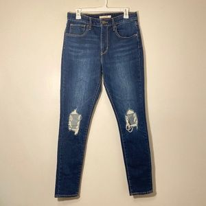 Levi's | 721 High Rise Skinny Jeans Size 30